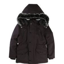 Faux Fur Hooded Parka Kids