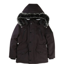 Faux Fur Hooded Parka Teens