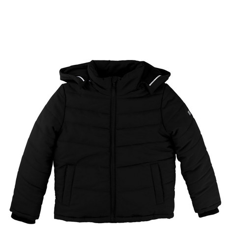 Hooded Puffer Jacket Kids, ${color}