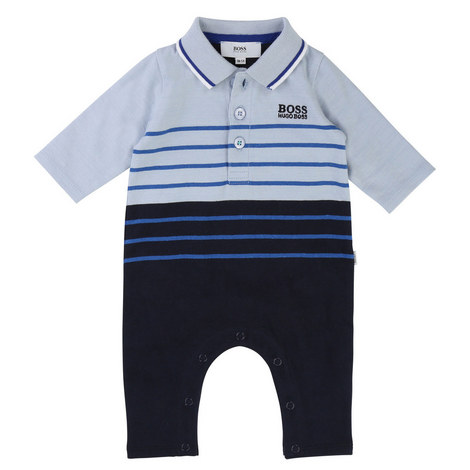 Striped Sleepsuit Baby, ${color}