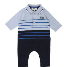 Striped Sleepsuit Baby
