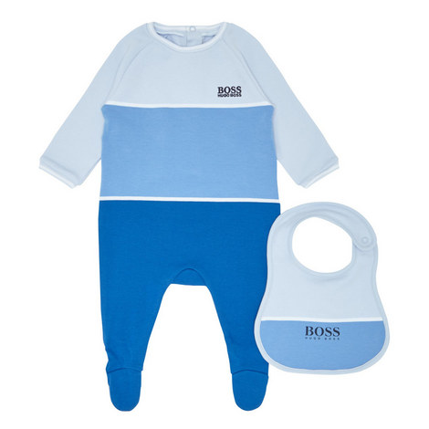 Sleep Romper and Bib Set Baby, ${color}