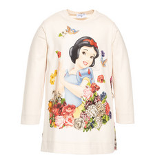 Snow White Vented Back Top Kids