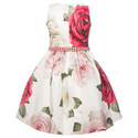 Rose Belted Dress Kids, ${color}