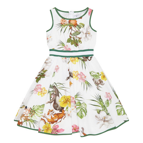 Jungle Book A-Line Dress, ${color}