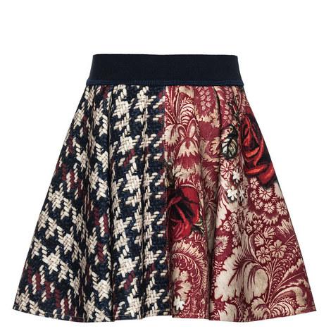Scuba Flared Skirt - Teen, ${color}