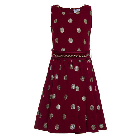 Dotty Embellished Dress - 4-10 Years, ${color}