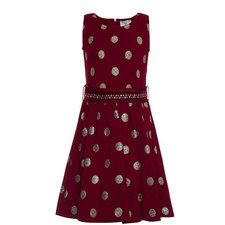 Dotty Embellished Dress - 4-10 Years