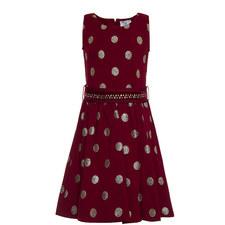 Dotty Embellished Dress Teen