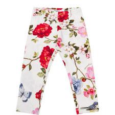 Floral Print Leggings Kids