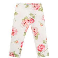 Floral Print Leggings - 4-10 Years