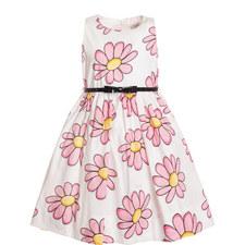 Daisy Print Dress Kids