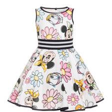 Disney Print Dress Kids