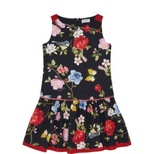 Rose Print Dress Kids