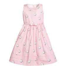 Pearl Belted Dress Kids