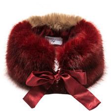 Faux Fur Collar - 4-10 Years