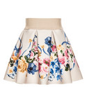 Flared Floral Skirt Baby, ${color}
