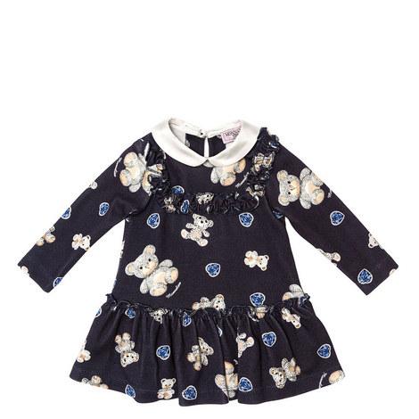 Teddy Bear Babydoll Dress Baby, ${color}
