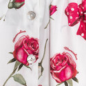 Two-Piece Rose Motif Poplin Set Baby, ${color}