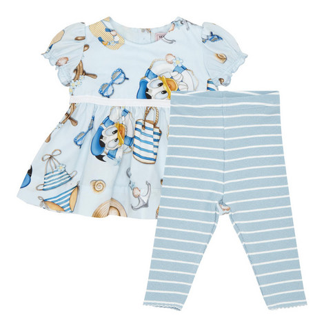 Two-Piece Donald Duck Dress and Leggings Set Baby , ${color}