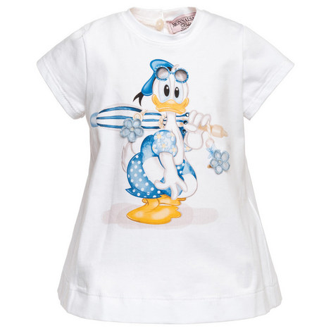 Donald Duck Bow T-Shirt Baby, ${color}