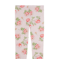 Rose Print Jersey Leggings Baby
