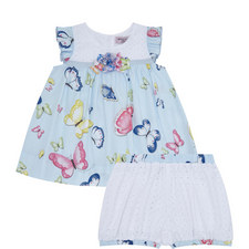 Butterfly Print Dress Baby