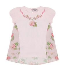 Rose Print Jersey Top Baby-Toddler