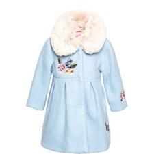 Faux Fur Collar Coat Baby