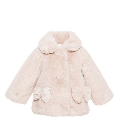 Faux Fur Teddy Coat Baby, ${color}