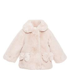 Faux Fur Teddy Coat Baby