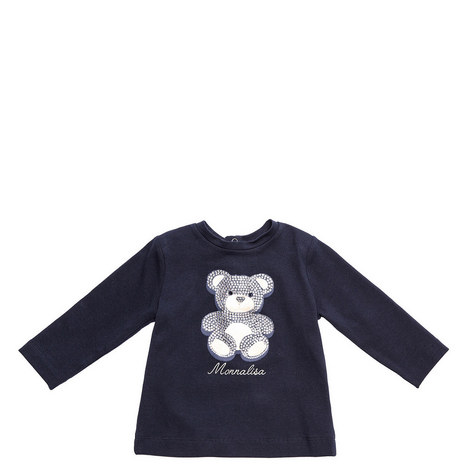Jewelled Teddy Bear T-Shirt Baby, ${color}