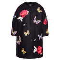 Embroidered Cocoon Coat Kids, ${color}