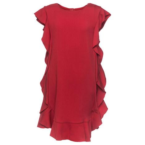 Ruffle Dress Teen, ${color}
