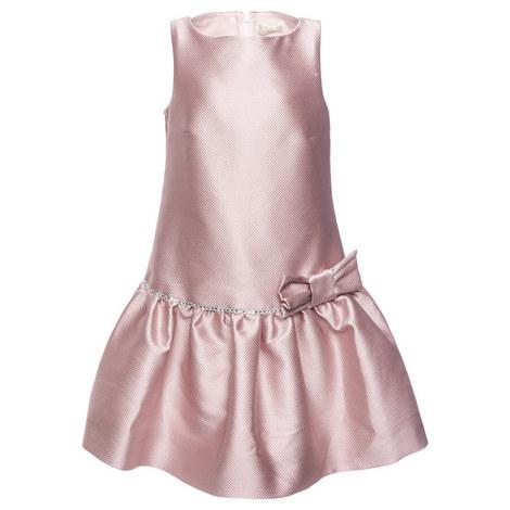 Diamanté Brocade Dress Teen, ${color}