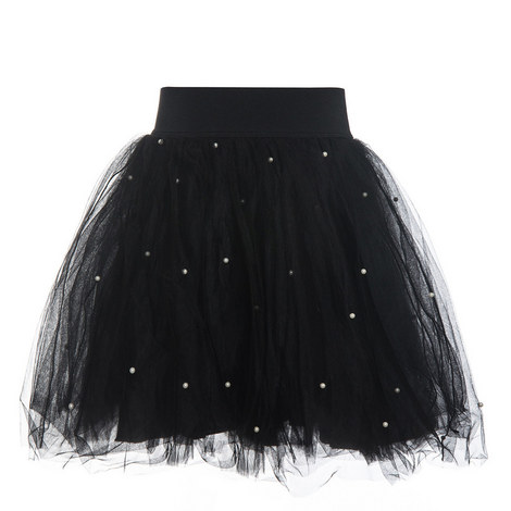 Embellished Tulle Skirt - Teen, ${color}