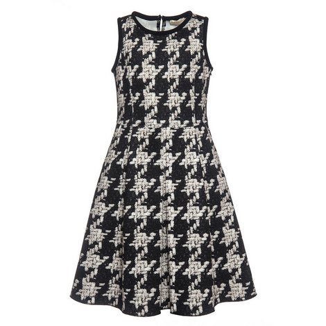 Tweed Print Dress - 4-10 Years, ${color}