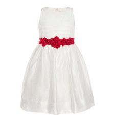Floral Ribbon Tulle Dress Kids