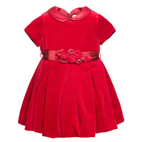 Peter Pan Collar Dress Baby, ${color}
