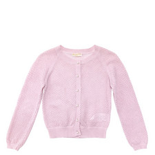 Pearl Button Cardigan Teen