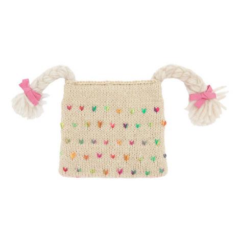 Plait Knit Hat Kids, ${color}