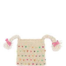 Plait Knit Hat Kids