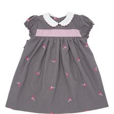 Poppy Flamingo Dress - 2-6 Years