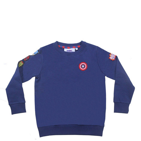 Marvel Badge Sweatshirt - 3-8 Years, ${color}