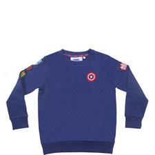 Marvel Badge Sweatshirt - 3-8 Years