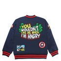 Marvel Badge Bomber Jacket Kids, ${color}