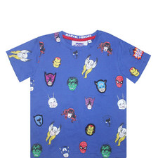 Marvel Heroes T-Shirt - 3-8 Years