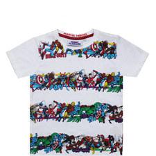 Marvel Heroes T-Shirt - 3-8 Years