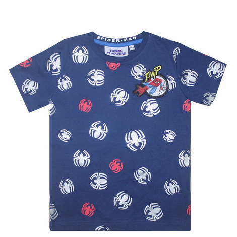 Spiderman Logo T-Shirt - 3-8 Years, ${color}