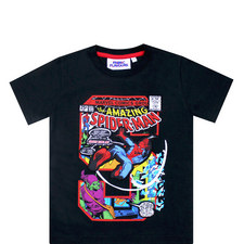Spiderman Comic Book T-Shirt - 3-8 Years